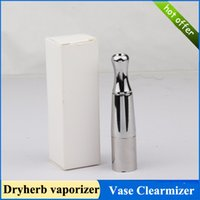 Wholesale Vase Porcelain Dry herb atomizer wax dry herb vaporizer tank large capacity clearmizer stainless steel and ceramics Material
