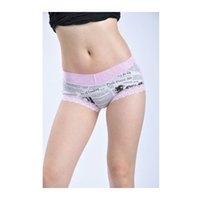 bamboo swimwear - 5 pieces New Bamboo Lace Shorts letters swimwear panties for women inside clothing for women