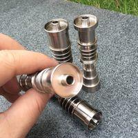Titanio ajustable Titanio grado 2 Titanio Para 16mm 20mm calentador bobina GR2 ti clavos fumar vidrio Bongs e cig Accesorios