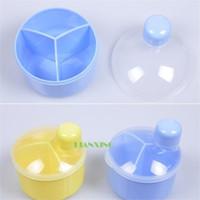 baby milk powder - Details about Portable Baby Kids Child Milk Powder Formula Dispenser Container Pot Compartme