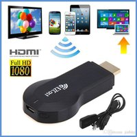 Wholesale 10pcs m2 ezcast wifi display miracast smart tv dongle stick for smartphone support DLNA ipush airplay better than android tv box V762