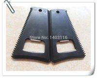 design plastic comb - bird design plastic nylon black surfboard wax comb