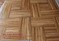 Wholesale Zebra wood plane multilayer X300 X15 surface thickness mm is very large size can be favorable The floor wood floor solid wood floor