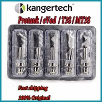 Wholesale Genuine kangertech T3S MT3S EVOD protank coils head coil heads for kanger T3S MT3S evod protank vaporizer also SOCC coil in stock