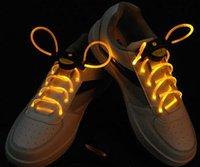 Wholesale HE LED Flashing Shoe Lace Fiber Optic Shoelaces Luminous Shoelaces Light Up one generation Shoes Lace free DHL