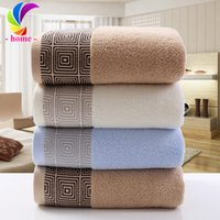 Wholesale g High Quality Cotton Bath Towel x140cm s Bath Towel Bath towel hot sale