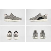 Wholesale Hot Sale Yeezy Boost Oxford Tan Running Shoes Pirate Black Yeezy Boost Turtle Dove Grey Kanye Yeezys With Box