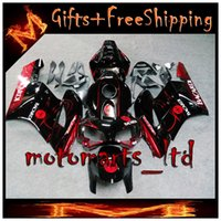 bacardi red - INJECTION MOLDED ABS Fairing for BACARDI bat CBR1000 RR red and black fairing CBR RR