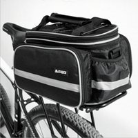 bicycle shelf - Bicycle Rear Frame Package Capacity L Riding Shelf Pack Nylon Foldable Riding Mountaineering Bags Bicycle Rear Package