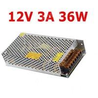 Wholesale DC12V A W Power Adatper Power supply for LED strip led module uu