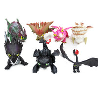 Wholesale Hot sale Set Pvc Figure Toy How To Train Your Dragon2 Movie Doll Toothless Kid Gift Toy