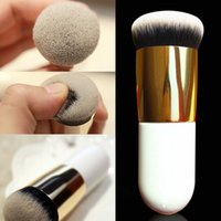 bb face powder - Chubby Pier Pro Makeup Beauty Cosmetic Face Powder Kabuki Blusher Brush Flat BB Cream Foundation Brushes Makeup Tool