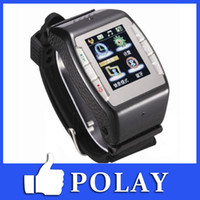 Wholesale 2015 quot Touch Wrist Watch Phone N688 mp Camera GSM Quad band Bluetooth Compass FM MP3 MP4 support Max GB TF card Russian