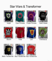 china christmas - new Star wars kids capes double layer China factory price transformer Knight princess storm transformer yoda lion storm darth