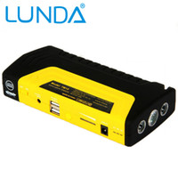battery powered vehicles - 50800mAh LUNDA Car jump starter High power capacity battery source pack charger vehicle engine booster emergency power bank