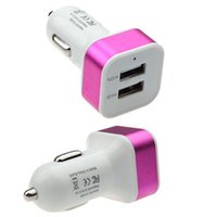 apple iphone song - 9 Colors Universal Car V To V Port USB Charger Adapter For iPhone S iPad Samsung LG Huawei Nokia Song