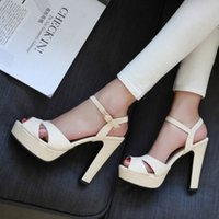 Wholesale Fashion Elegant Style Open Toe Sandal Dress Shoes For Women Sexy Casual Round Toe Summer High Heels Sandal