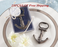 beach wedding souvenirs - 2015 New Wedding Favors Anchor Nautical Themed Bottle Opener wedding souvenirs For Party decorations and Beach wedding Gift