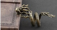 Wholesale high quality punk dragon ring fashion jewelry Retro ring handmade jewelry factory price sw012