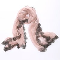 Wholesale 2014 Japan and South Korea in autumn and winter scarves silk organza lace openwork lace scarf female golden gold