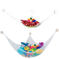 Wholesale Toy Hammock Stuffed Animal Hammock Toy Storage Pet Net Toy Net Hammock for Stuffed Animals Triangular Net for Nursery Playroom Toy Room etc