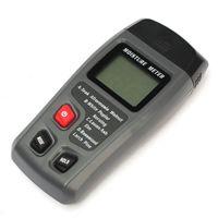 Wholesale Range Pins Digital LCD Display Wood Moisture Meter Humidity Tester Timber Damp Detector Hygrometer CSY01H order lt no track