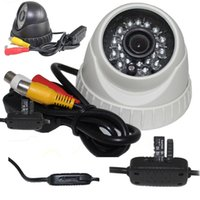 Wholesale Home Security Digital Video Recorder mm AV Outpu Infrared LED CCTV Dome Security Camera
