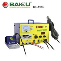 Wholesale pieces W Digital Display in SMD Hot Air Rework Station BAKU BK S