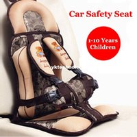 Wholesale New Children Car Safety Seat High Quality Portable Comfortable Baby Kids Car Seat Practical Safe Cushion for Years Children