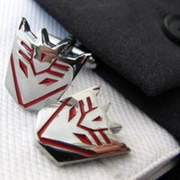 autobot shirt - Autobot Cufflinks Anime Cufflink Men Shirt Accessories Unique Mens Gifts cf431