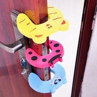Wholesale 4pcs set Baby Helper Safety Door Stop Finger Pinch Guard Lock