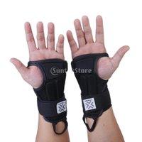 Wholesale New Brand New Pair Snowboard Ski Protective Gear Glove Sport Wrist Support Guard Pads Brace