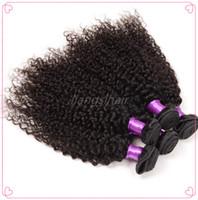 Wholesale Brazilian Virgin Human Hair Extensions A Brazilian Peruvian Malaysian Indian Hair Bundles Spring Curly Hair Weave