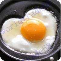 Wholesale Brand New Love Fried pot Creative omelette pan Creative gift couple s gift