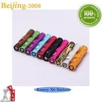 Cheap DHL free original Kamry top quality X6 electronic cigarette battery X6 ecigarette battery X6 e cig battery X6 V2 electronic cigarette 002710
