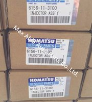 Wholesale 095000 Common rail fuel injector for KOMATSU PC600 SA6D140
