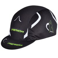 Wholesale team bike cycling cap black headband merida hat headdress sun proof breathable chapeau bicicleta sombrero