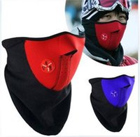 Wholesale New Cheap Neoprene Neck Warm Half Face Mask Winter Veil Windproof For Sport Bike Bicycle Motorcycle Ski Snowboard Outdoor Mask