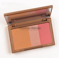 Wholesale Flushed Blush Palette Colors Makeup Blusher Bronzer Highlighter Blush in Make up Pallete g JJD1750