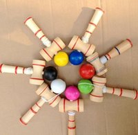 Wholesale 2015 new MINI CM Actual Mini Pocket Kendama Japanese Traditional Toy Balls Educational Toys For Adult Gift For Children