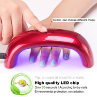 Wholesale Top Grade nail dryer nail gel polish mini LED UV lamp for curing dryer curing lamp led rainbow lamp for nail art tools
