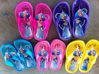 house shoes - Frozen Childrens Slippers Flip Flops Kids Slippers Childrens Shoes Girls Slippers Kids Footwear Cool Slippers Kid Beach slippers House Slipp