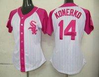 Baseball adam dunn jersey - 2015 New NWT Paul Konerko Women Jersey Pink Chicago White Sox Jersey Woman Baseball Jersey Ladies Gordon Beckham Adam Dunn