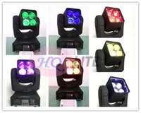Wholesale remote DMX dj lighting x12w in1 rgbw mini zoom moving head