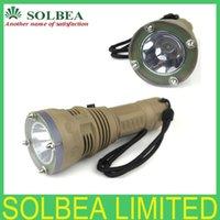 Wholesale 1pc TrustFire DF001 Led Scuba diving flashlight Cree XM L2 LM Flashlight Torch Waterproof m Depth Underwater Retail Box