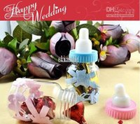 Wholesale Wedding favors Baby feeding bottle wedding candy box