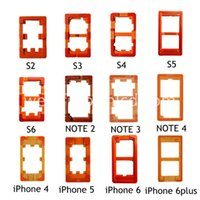 Wholesale 12pcs OCA UV Glue Mould LCD glass Mold For Samsung S For Iphone inch Plus Inch Holder