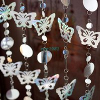 Wholesale Decorative sequins glitter Butterfly door Curtain Holiday decoration curtains Can be freely combined