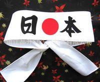 Wholesale Japanese samurai spirit headscarves Head with cotton Headband Japan