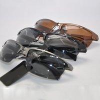 aluminum alloy corrosion - Aluminum Magnesium Polarized Sunglasses Men Sport High Grade Anti UV Allergy Anti corrosion Sunglasses